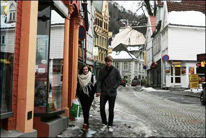 Couple in Bergen